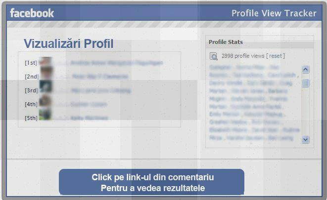 Şoc şi groază la sondajul Vezi cine te urmăreşte pe Facebook #1
