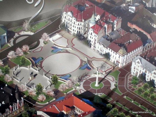Nou proiect pentru refacerea piaţei Unirii din Oradea #1