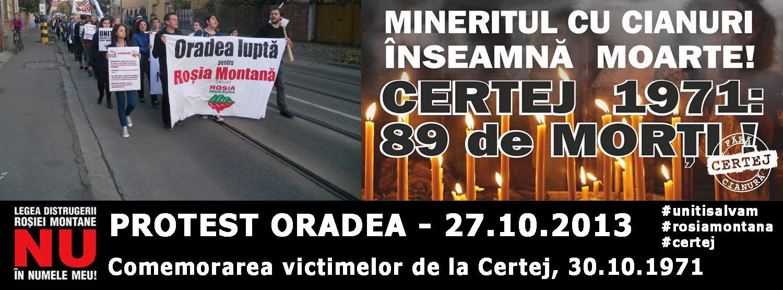 A noua săptămînă de proteste împotriva exploatării Roşia Montană #1