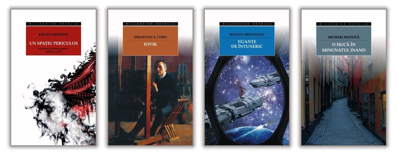 Lansare de carte Millennium Books la Bookfest 2014: Roxana Brînceanu, Sebastian A. Corn şi Michael Haulică #1