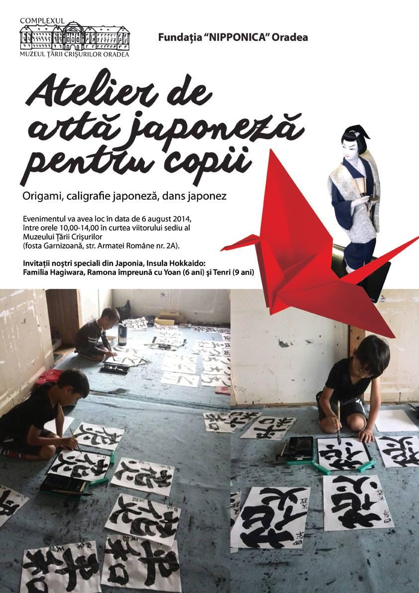Atelier de artă japoneză pentru copii #1