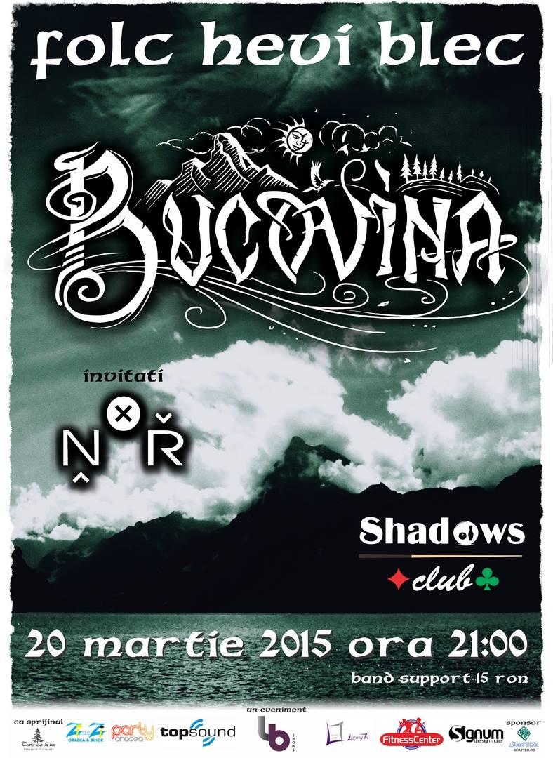 Concert Bucovina la Shadows Club, martie 2015 #1
