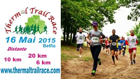 Cursa atletism Thermal Trail Race #1