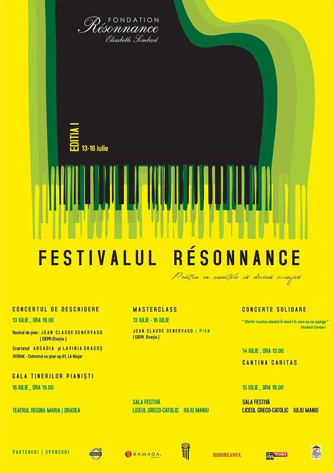 Festivalul Resonnance la prima ediţie #1