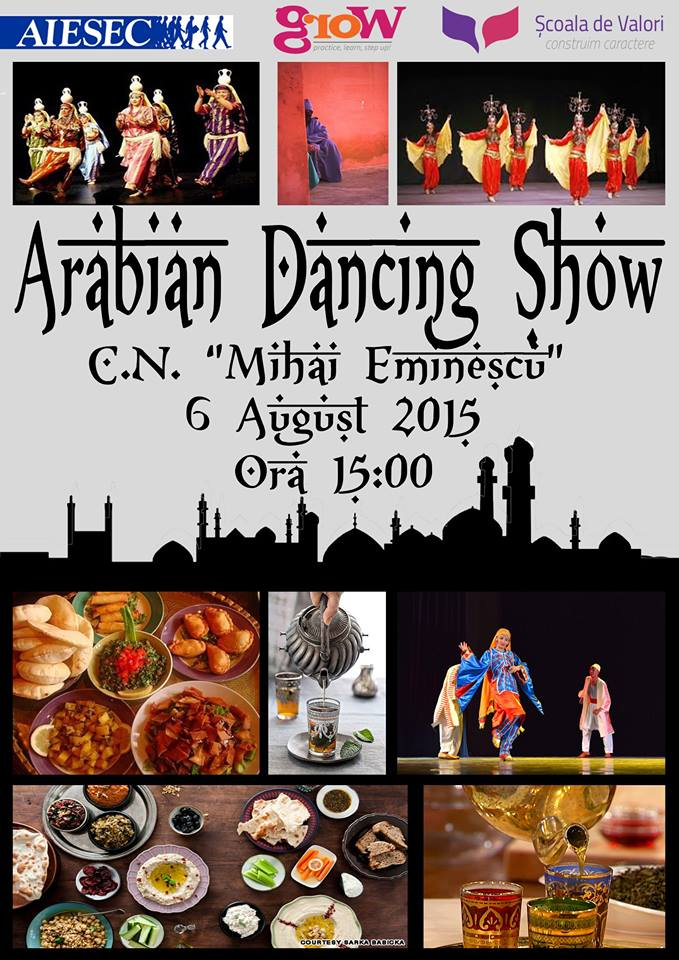 Spectacol de dansuri arabe, august 2015 #1