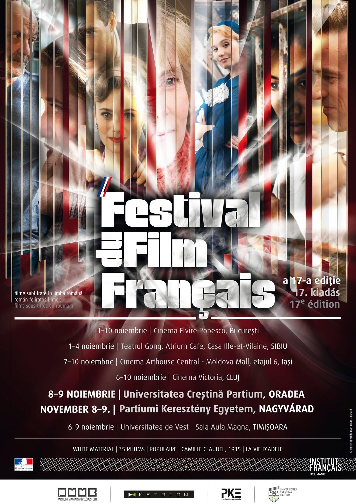 Festivalul Filmului Francez, ediţia a XVII-a, Universitatea Partium, noiembrie 2013 #1