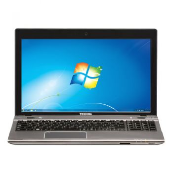 Laptop Toshiba L855-10X cu procesor Intel® CoreTM i7-3610QM 2.30GHz, Ivy Bridge, 6GB, 1TB, AMD Radeon HD 7670M 2GB, Microsoft Windows 7 Home Premium, Silver